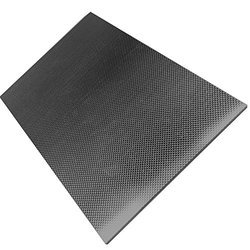 Black 4mm Carbon Fiber Sheet, For Industrial, Size: Custom Made