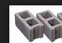 Hollow Gray Concrete Blocks