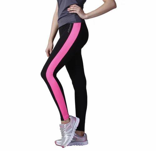 7e30786513bfe Cotton/Polyester/Spandex Medium And Large Womens Stylish Yoga Pants ...