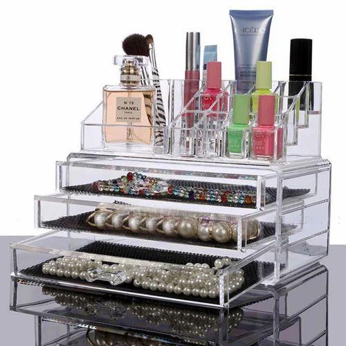 Acrylic Makeup Cosmetic Organizer Storage Box K422