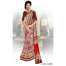 Weave Border Uniform Sarees