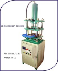 Cup Dhoop Sambrani Making Machine