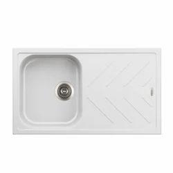 Single Ajanta Granite Bathroom Sink