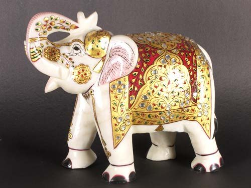 Decorative Wooden Elephant for Decoration