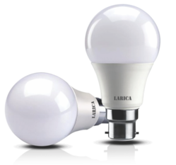 Larica B22 7 Watt 3 in 1 LED Bulb, Shape: Round