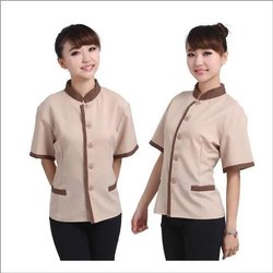 Cotton Female Hotel Uniform