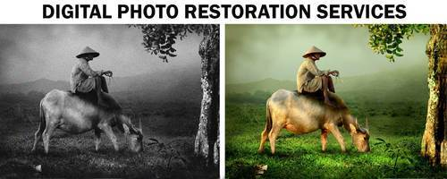 Photo Restoration Services - Repair Old, damaged and Photos