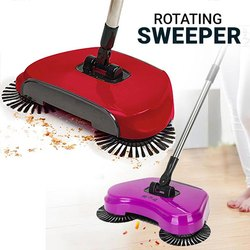Roto sweep Hand Push Sweeper