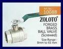Zoloto Ball Valve