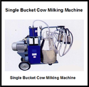 Single Bucket Cow Milking Machine