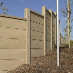 Step Concrete Compound Wall