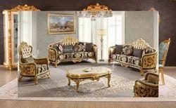 Wooden Antique Victorian Sofa Sets