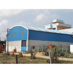 Arch Roofing Industrial  Shed Contraction
