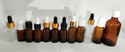 15 ml Amber Essential Oil Dropper Glass Bottle
