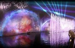 Multicolor Laser Show Fountains