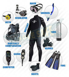Under Water Diving Kit