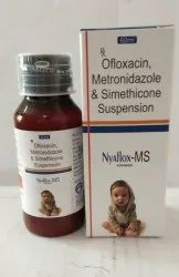 Ofloxacin 50 Mg Metronidazole 120 Mg Simethicone 10 Mg