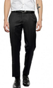 Blackberrys Slim Fit Grey Formal Trousers