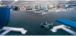 EPDM Rubber Gym Tiles Flooring