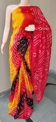 Zari Pink Banarasi Saree