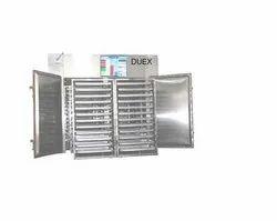 DUEX Ss Dryer Machine, Capacity: 10 - 4000 Kg