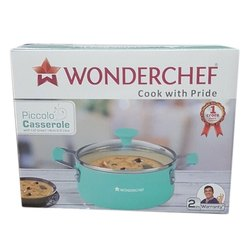 Wonderchef Green Piccolo Casserole for Home, Restaurant