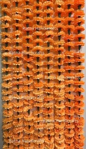 Artificial Marigold Flower Garland And Decoration Garlands