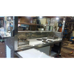 SS L Shaped Food Counter