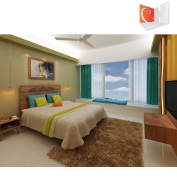 Bedroom Interior Designing Heena Series, Maharashtra
