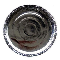 Silver Paper Plate raw material 180GSM