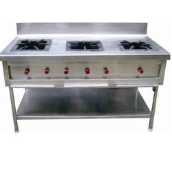 Three Burner Indian Gas Range