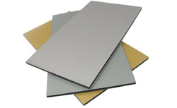 Eurobond Metallic Finish Aluminium Composite Panel, Width: 1220 mm, Length: 1500 to 6100 mm