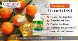 Mandarin essential oils