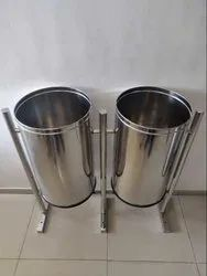 Stainless Steel Street Dustbin