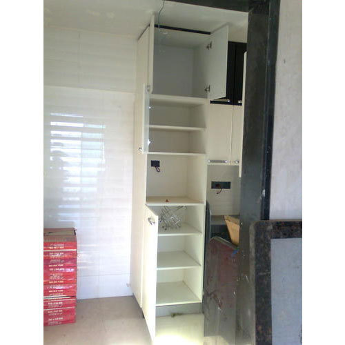 Standard Kitchen Wooden Tall Unit Cabinet Rs 410 Square Feet Aaradhyaa Enterprise Id 15599267712