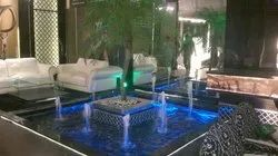 Brown Stone Indoor Fountains, For In Park