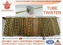 Gold Tool Premium Hollow Pipe & Tube Twisting Design Jewellery Dies