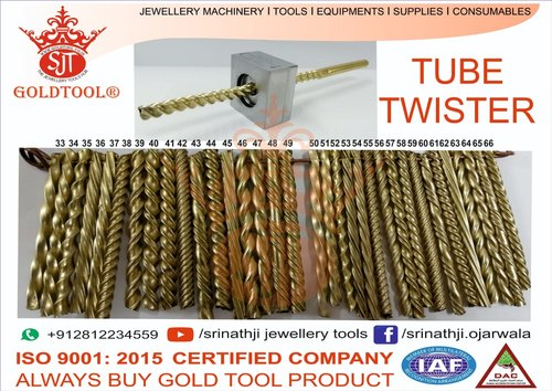 Gold Tool Premium Hollow Pipe & Tube Twisting Design Jewellery Dies