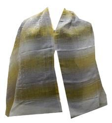 Super Wool Scarf With Zari Jacquard