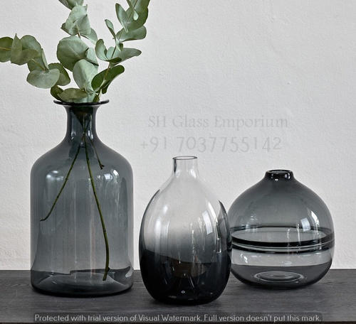 Eclipse Grey Vase At Rs 400 Piece Labour Colony Firozabad Id
