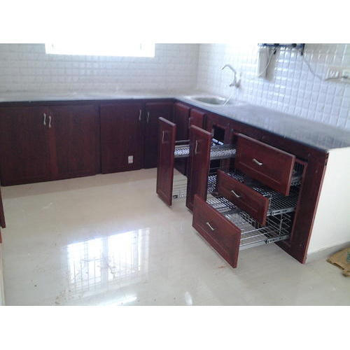 Kaka Pvc Kitchen Furniture: Brown PVC Kitchen Furniture, Metrolink Outsourcing