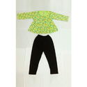 Cotton Printed Kids Top and Pant