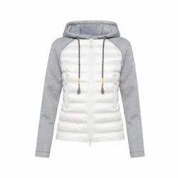 Full Sleeve Ladies Woolen Hood Jacket, Size: XL-XXXXL