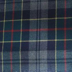 Daga Polyester and Viscose Boys School Uniform Fabric