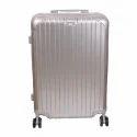 Grey Pvc Traveling Trolley Bag
