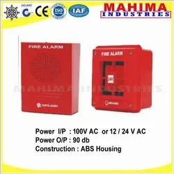 MS BODY Fire Alarm Control Panel Hooter And Sounder Fire Alarm