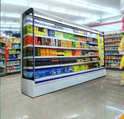 Blue Star Super Market Display Refrigerator
