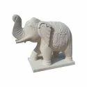 Sand Stone Sandstone Elephant Statue, For Exterior Decor