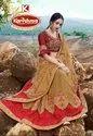 Heavy Embroidery Work Saree - Monalisa