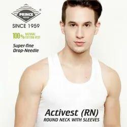 Mens Cotton Vest PRINCE Activest (RN)